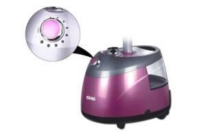Отпариватель паровой утюг DSP KD-6016 PLUS 2000W 2,5 л пароочиститель электрический Сиреневый (par_KD 6016_2)