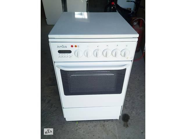 Плита газовая с электро духовкой 50 ка бы.у из Европы- объявление о продаже  в Каменке-Бугской