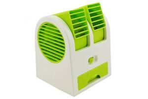 Портативный мини кондиционер вентилятор Kronos MINI FAN HB 168 Салатовый (sp_4395-3)
