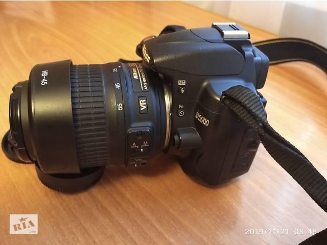 Продам фотоаппарат Nikon d5000 тушка чистый японец- объявление о продаже  в Виннице