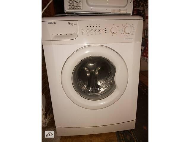 Продам рабочую стиральную машину автомат BEKO. Цена 2400. Краматорск.- объявление о продаже  в Краматорске