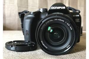 ПРОДАЮ дзеркальний фотоапарат Olympus E-510 (із футляром).