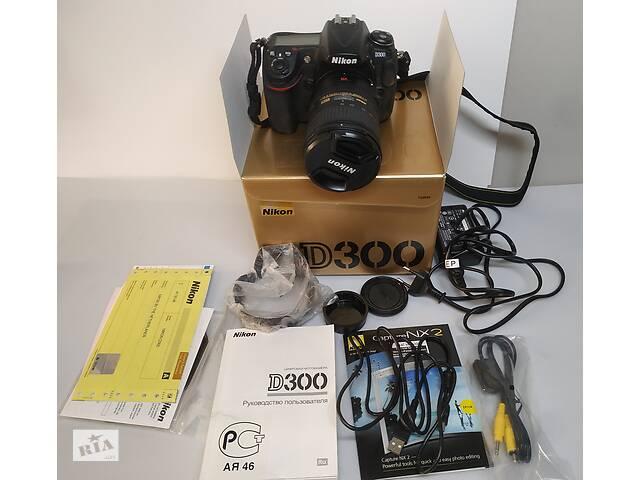 Професійна APS-C камера Nikon D300 (DSLR) + про& # 039; єктів Nikkor af-s 18-200mm- объявление о продаже  в Києві