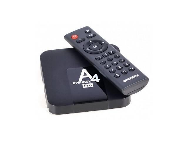 купить бу Смарт-приставка Android TV-Box Openbox A4 Pro SKL31-239429 в Одессе