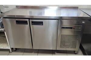 Стіл холодильний TEHMA 2-х дверний (1400*600*850 з бортом)
