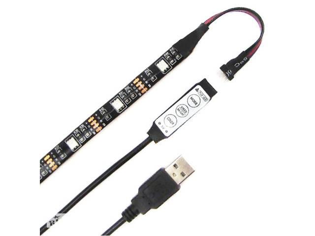 бу Светодиодная RGB лента с USB и миниконтроллером Feron LS708 (gr_008257) в Киеве