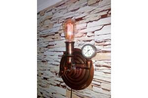 Светильник настенный в стиле стимпанк