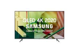 Телевизор Samsung QE55Q70TA (PQI 3400 Гц, 4K UHD Dual LED, HDR10+, ОС Tizen™, DVB-C/T2/S2)
