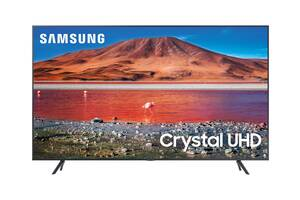 Телевизор Samsung UE70TU7172 (PQI 2000 Гц, 4K UHD, HDR10+, Dolby Digital Plus, ОС Tizen™, DVB-C/T2/S2)