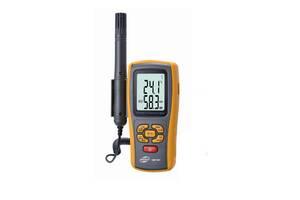 Термо-гигрометр GM1361 (0-100%; -10℃ - 50℃; Термопара К-типа: -30℃ - 1000℃) DW, Wet Benetech (mdr_2070)