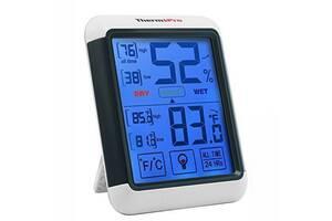 Термо-гигрометр ThermoPro TP-55 (-50°C ... 70°C; 10%...99%) с подсветкой и магнитом (mdr_2895)