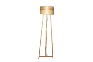 Торшер напольный в стиле лофт деревянный Woodidea Floor lamp Eco L 1.5 м Бежевый (wdi_t1l)