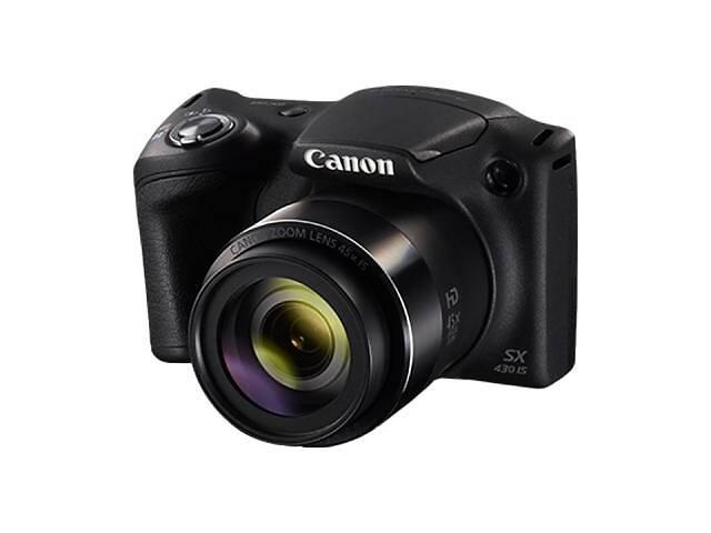 Цифровой фотоаппарат Canon PowerShot SX430 IS Black (1790C011AA)- объявление о продаже  в Киеве