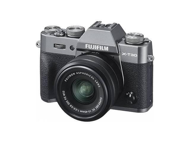 Цифровой фотоаппарат Fujifilm X-T30 + XC 15-45mm F3.5-5.6 Kit Charcoal Silver (16619401)- объявление о продаже  в Харькове