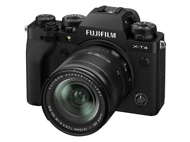 Цифровой фотоаппарат Fujifilm X-T4 + XF 18-55mm F2.8-4 Kit Black (16650742)- объявление о продаже  в Києві