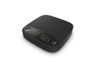 Цифровые кофейные весы Barista Space (черные)