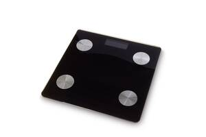Цифровые смарт весы напольные Sky Черный (5769)