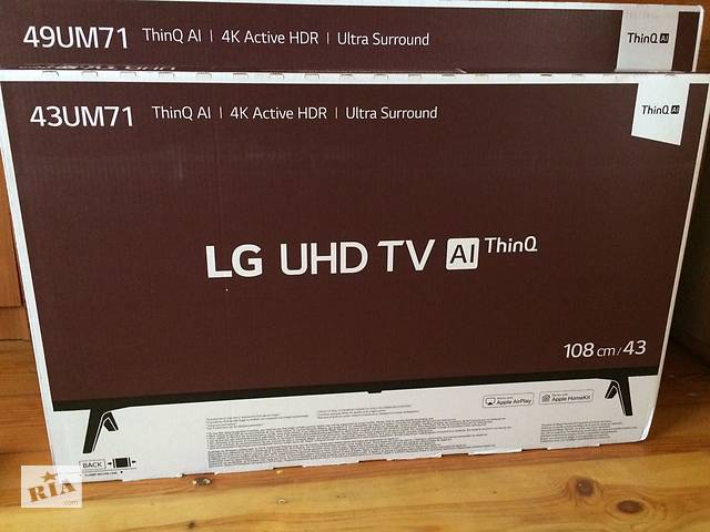купить бу  TV LG 43 / 49um7100 SMART TV , 4K в Яворове