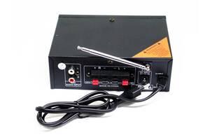 Підсилювач BM AUDIO BM-700BT USB Блютуз 300W + 300W 2х канальний