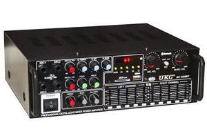 Усилитель звука UKC AV-326BT 5149 Bluetooth с караоке Черный (gr_017322)