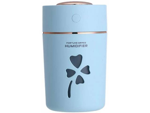бу Увлажнитель воздуха ультразвуковой HUMIDIFIER CLOVER Pro Ночник ароматизатор с подсветкой и USB Light-Blue (1125B-FL) в Киеве