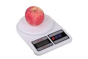 Ваги кухонні Electronic Kitchen SF-400 10 кг Білі