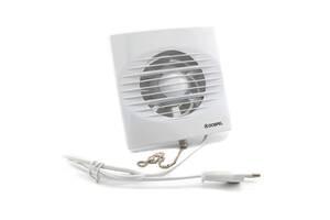 Вентилятор Dospel ZEFIR 100WP з вимикачем