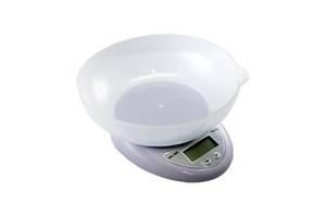 Весы кухонные электронные до 5кг, точность 1г, с чашей