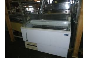 Витрина б/у для мороженого ISA Isetta морозильная бу витрина для кафе магазина