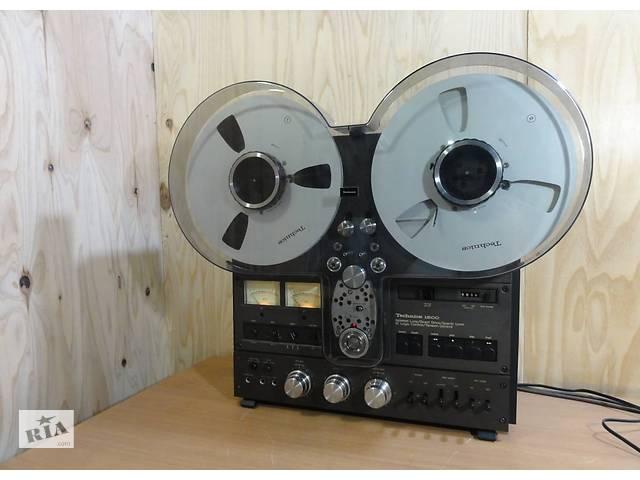 купить бу Японский катушечный стерео магнитофон Technics RS-1500U в Городке