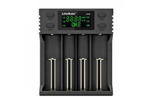 Зарядное устройство для аккумуляторов батареек AA/AAA универсальное Liitokala Lii-S4 (gr_011156)