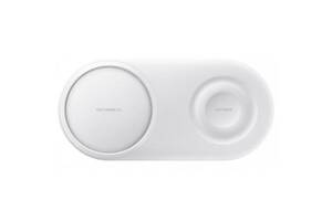 Зарядное устройство Samsung Wireless Charger Duo White (EP-P5200TWRGRU)