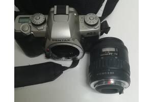 Дзеркальний SLR фотоапарат з автофокусом Pentax MZ-3 і Pentax-FA 28-70mm