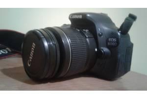 б/у Зеркальные фотоаппараты Canon EOS 600D Kit (18-55 IS)