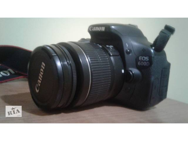 бу Фотоапарат Canon 600D Kit 18-55 в Тячеві