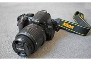 б/в Дзеркальні фотоапарати Nikon D3100 Kit (18-105 VR)