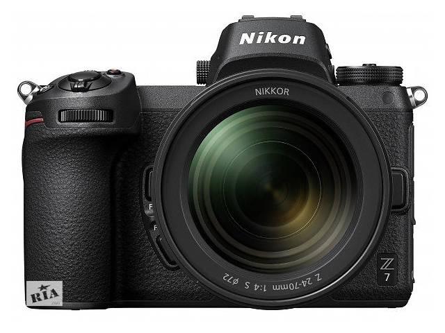 Фотоаппарат NIKON Z7 + 24-70 F4.0 + FTZ Mount Adapter (VOA010K003)- объявление о продаже  в Киеве