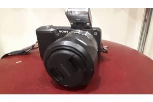 б/в Фотоапарати, фототехніка Sony NEX-3D 16mm + 18-55mm