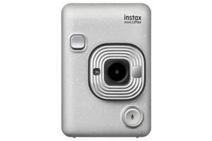 Фотокамера моментальної друку Fujifilm INSTAX Mini LiPlay Stone White (16631758)