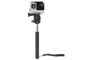 Крепление для экшн-камер AirOn 3в1: монопод, крепления-адаптери для екшн-камеры и телефона (AC161)