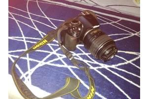 б/в Дзеркальні фотоапарати Nikon D3100 Kit (18-55 VR)