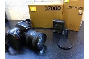 б/у Зеркальные фотоаппараты Nikon D7000