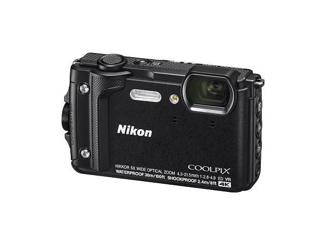 купить бу Цифровой фотоаппарат Nikon Coolpix W300 Black (VQA070E1) в Киеве