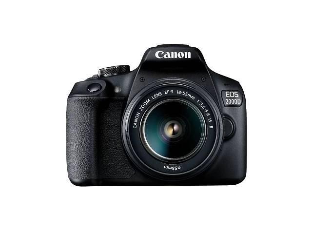 Цифровой фотоаппарат Canon EOS 2000D 18-55 IS II kit (2728C008)- объявление о продаже  в Киеве