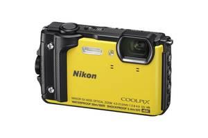 Цифровой фотоаппарат Nikon Coolpix W300 Yellow (VQA072E1)