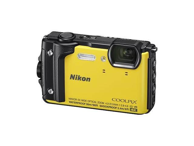 бу Цифровой фотоаппарат Nikon Coolpix W300 Yellow (VQA072E1) в Киеве