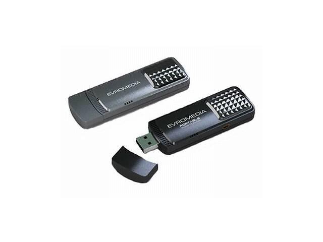 продам ТВ тюнер EvroMedia USB Hybrid Volar HD бу в Киеве