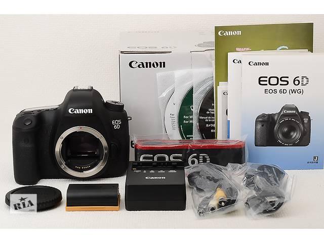 купить бу CANON 6D в Тернополе