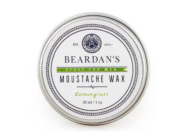 Воск для усов Beardans, Lemongrass, 30 мл R152345- объявление о продаже  в Одессе