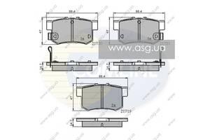 CBP3445 Comline - Гальмівні колодки до дисків - Новое